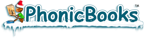Phonic Books Christmas logo
