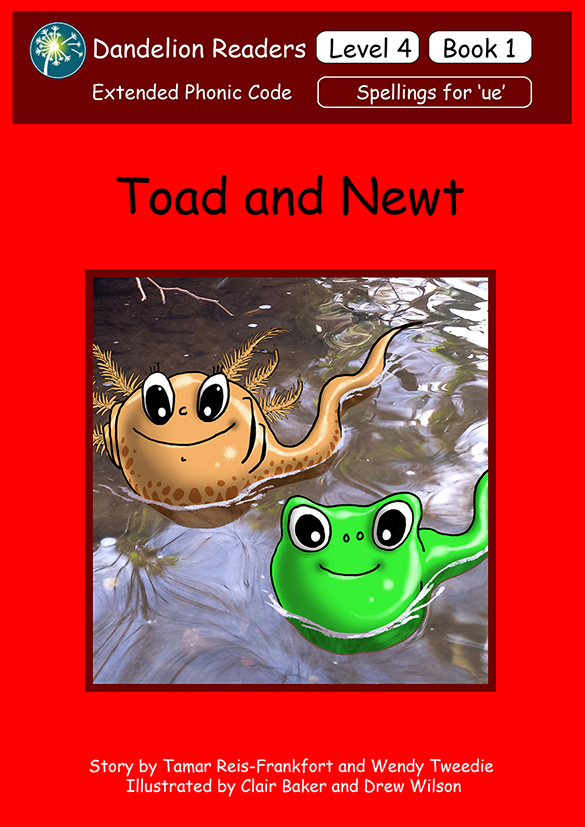 L4 Book 1 - Toad and Newt - COVER