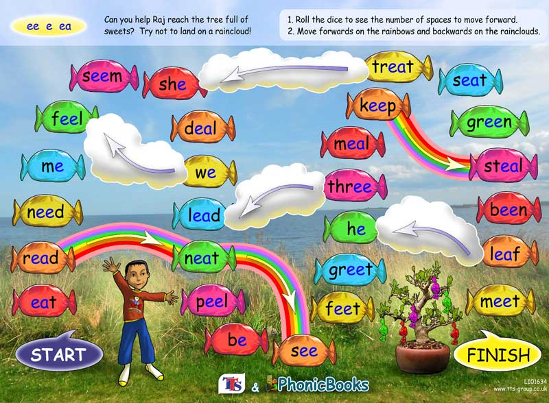 Phonic Books Games