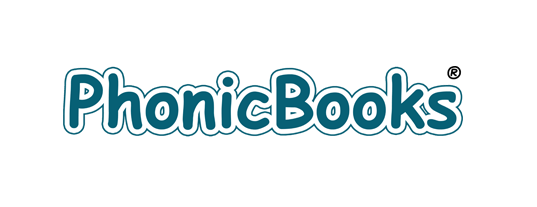 Phonic Books logo highlighted