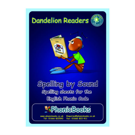 Dandelion Readers Spelling by Sound Workbook
