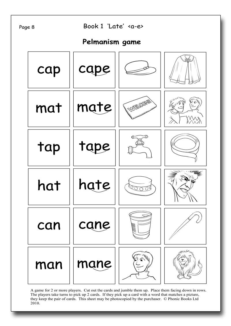 Dandelion Readers, Split Vowel Spellings Workbook