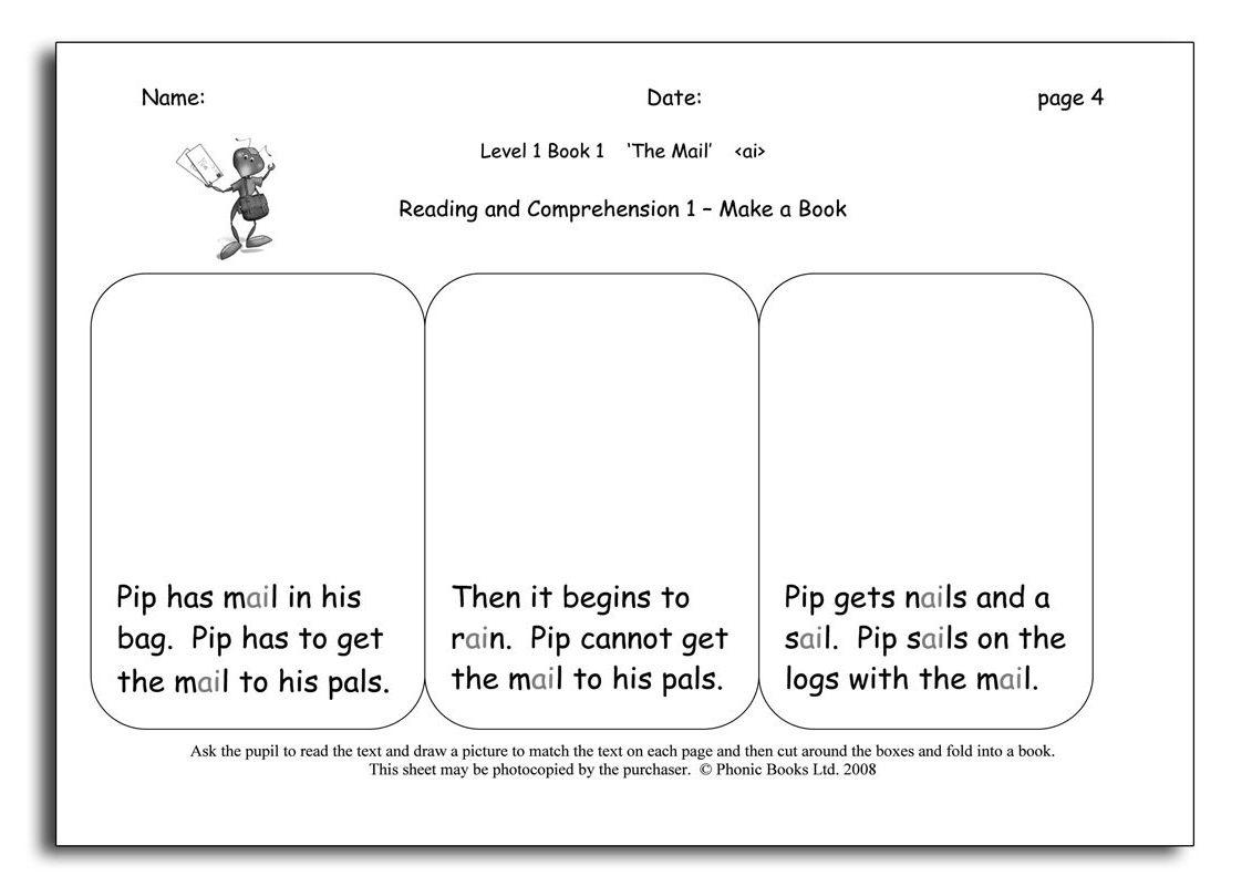 Dandelion Readers, Level 1 Reading & Spelling Activities