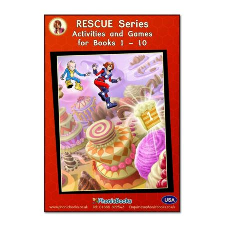 Rescue Series, Workbook, Books 1-10 USA Version
