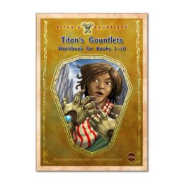 Titan's Gauntlets, Workbook, Books 1-10 - USA Version