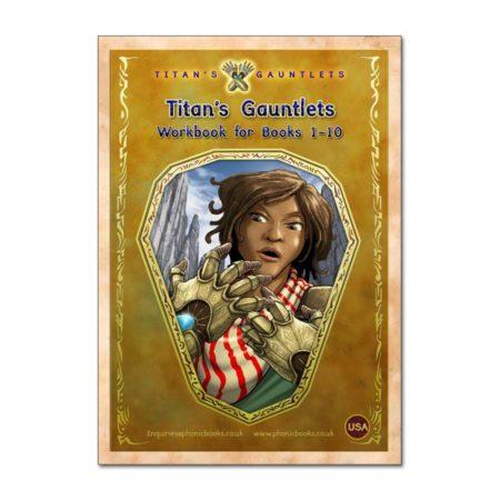 Titan's Gauntlets, Workbook, Books 1-10 - USA Version