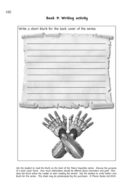 Titans Gauntlets Workbooks