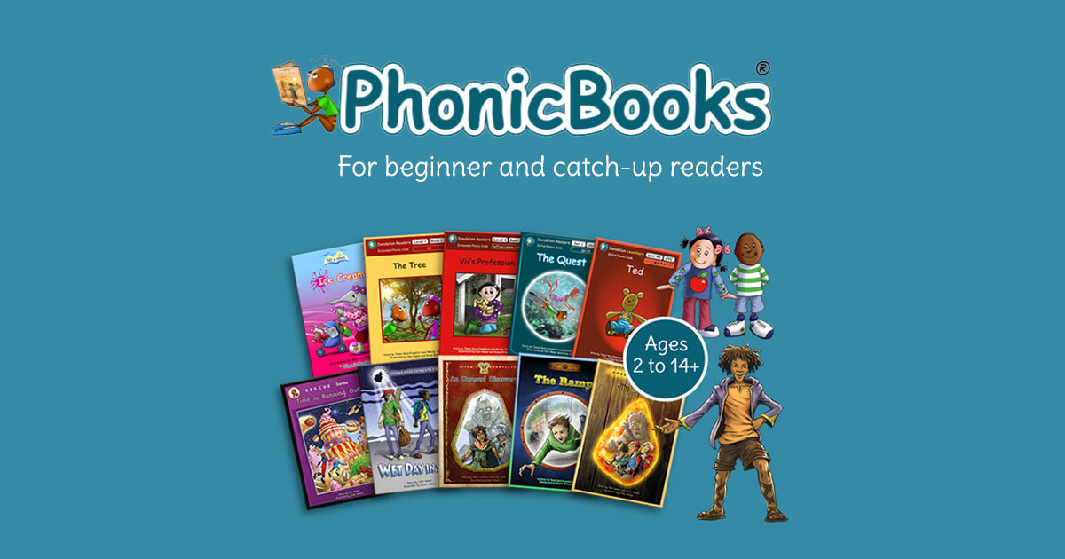 Phonic Books - Decodable Books for Beginner and Reluctant