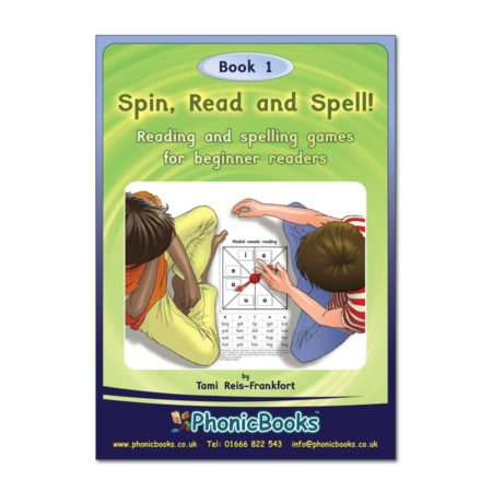 Spinner Read and Spell, Book 1 Cover Sample