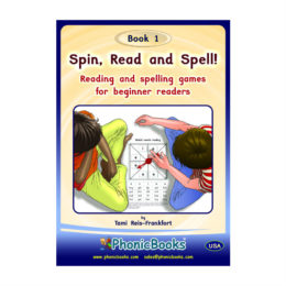 Spin, read, spell Book 1 - US-Edition