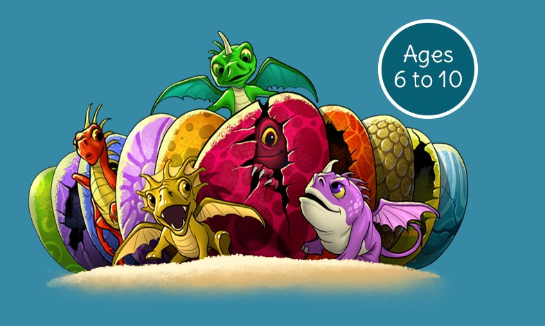 Phonic Books Dragon Eggs Series